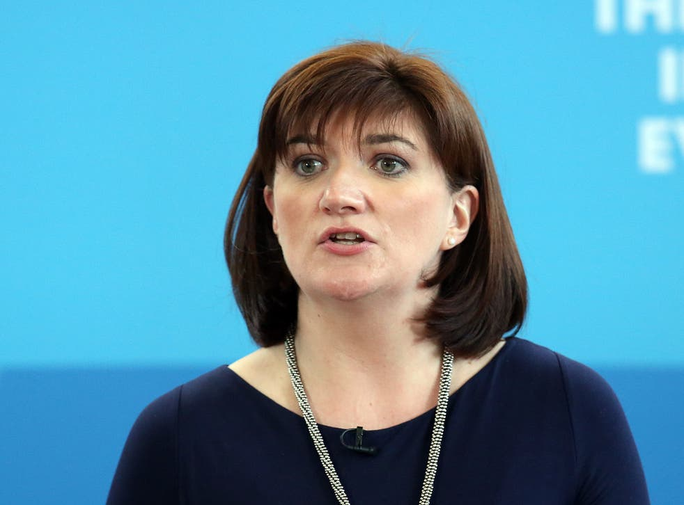 Nicky Morgan pledged to 'name and shame' companies that did not pay women equally