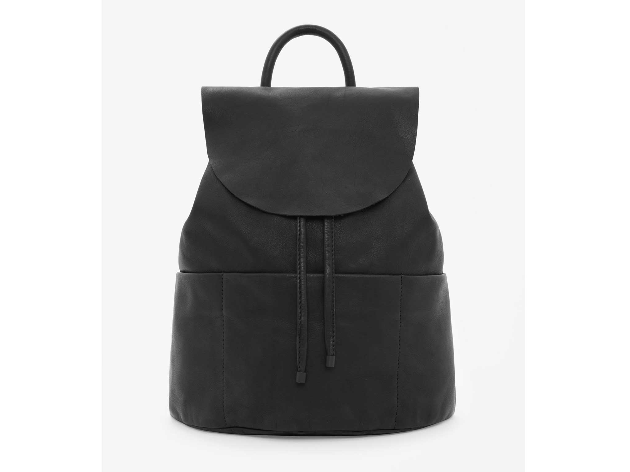 0a433afaf17 Here s a soft, unstructured bag that will go with everything. The raw-cut  edges keep everything pared down and the slimmer-than-average straps help  make it ...