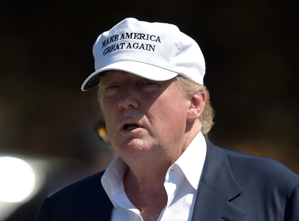 Trump denies the allegations that his golf course was responsible for the flooding