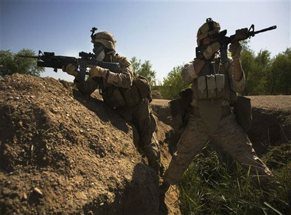 The M-4 carbine has become the standard issue weapon for US forces