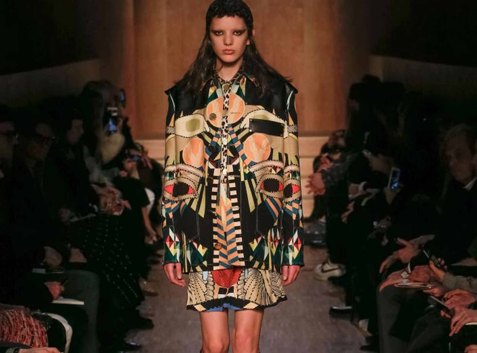 Givenchy on the catwalk