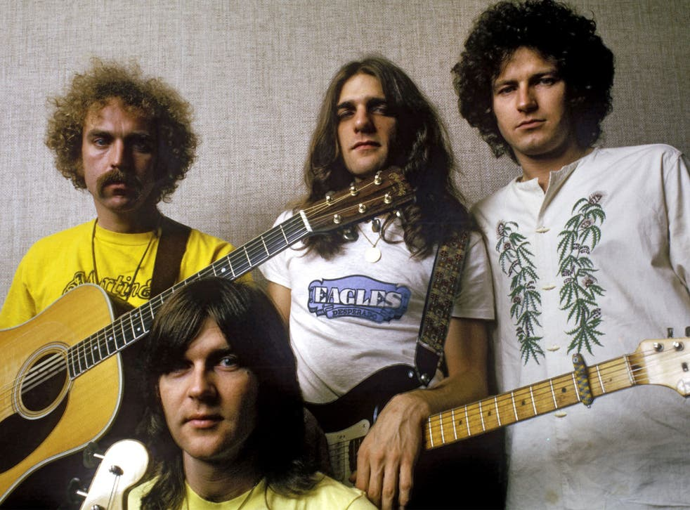 The Eagles pictured in 1973, with Randy Meisner in front