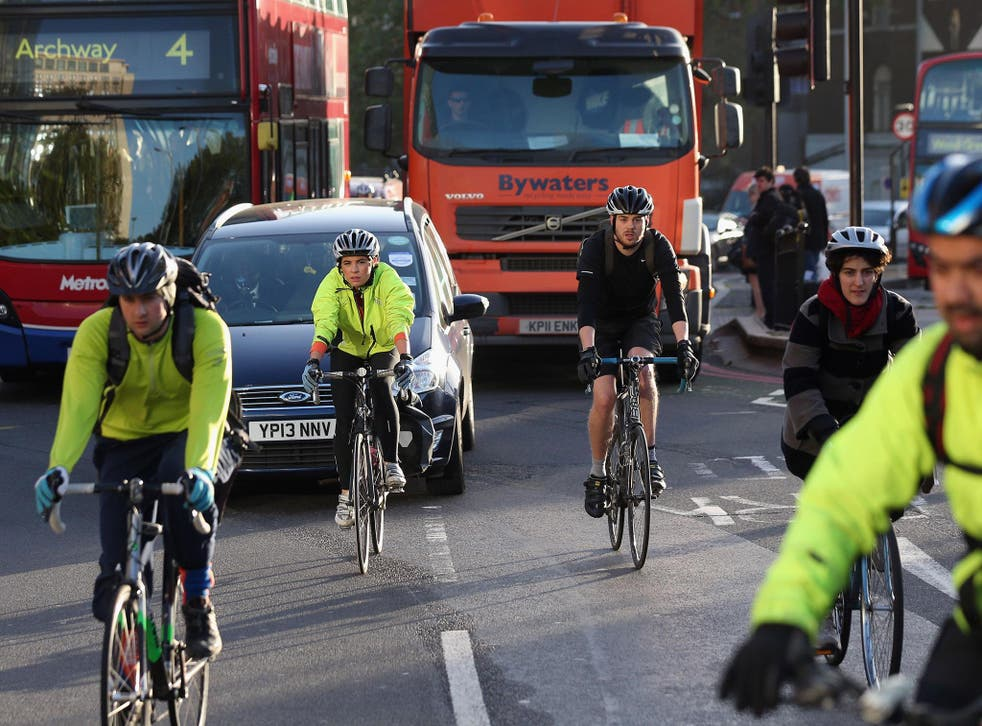 Around 75 per cent of fatal or serious cyclist accidents occur in urban areas