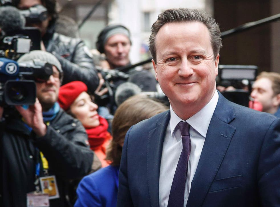 David Cameron seems surprised by the public's reaction to the revelation he had benefited from an offshore fund before becoming Prime Minister