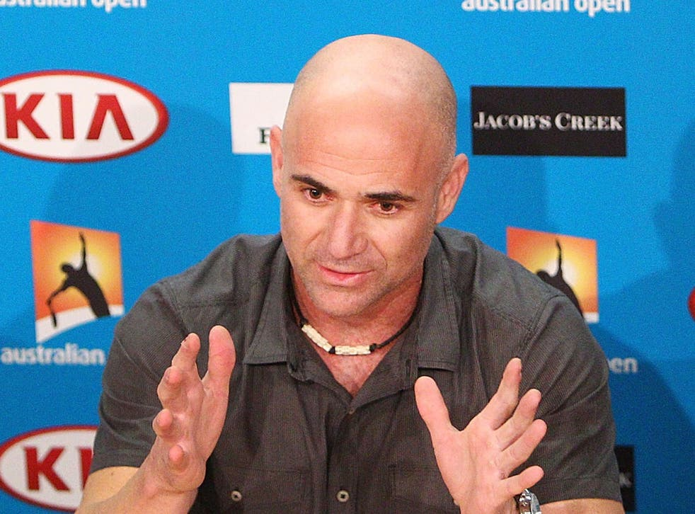 Former tennis player Andre Agassi revealed a failed drug test during his career was covered up