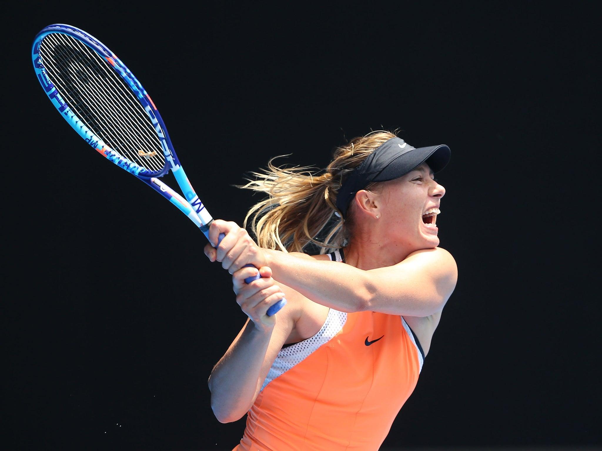 Maria Sharapova ban Tennis star facing one year suspension
