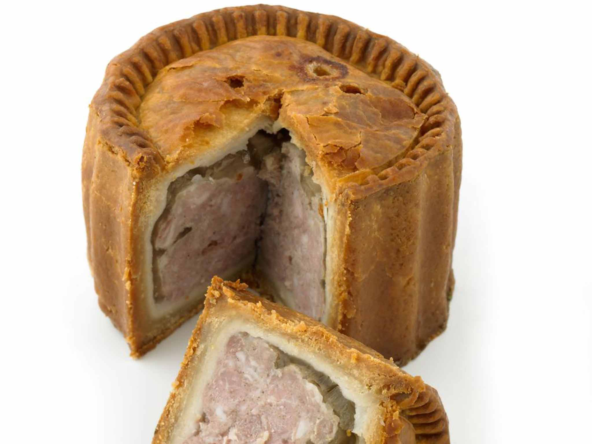 A pork pie with no jelly is like love without sex: You can