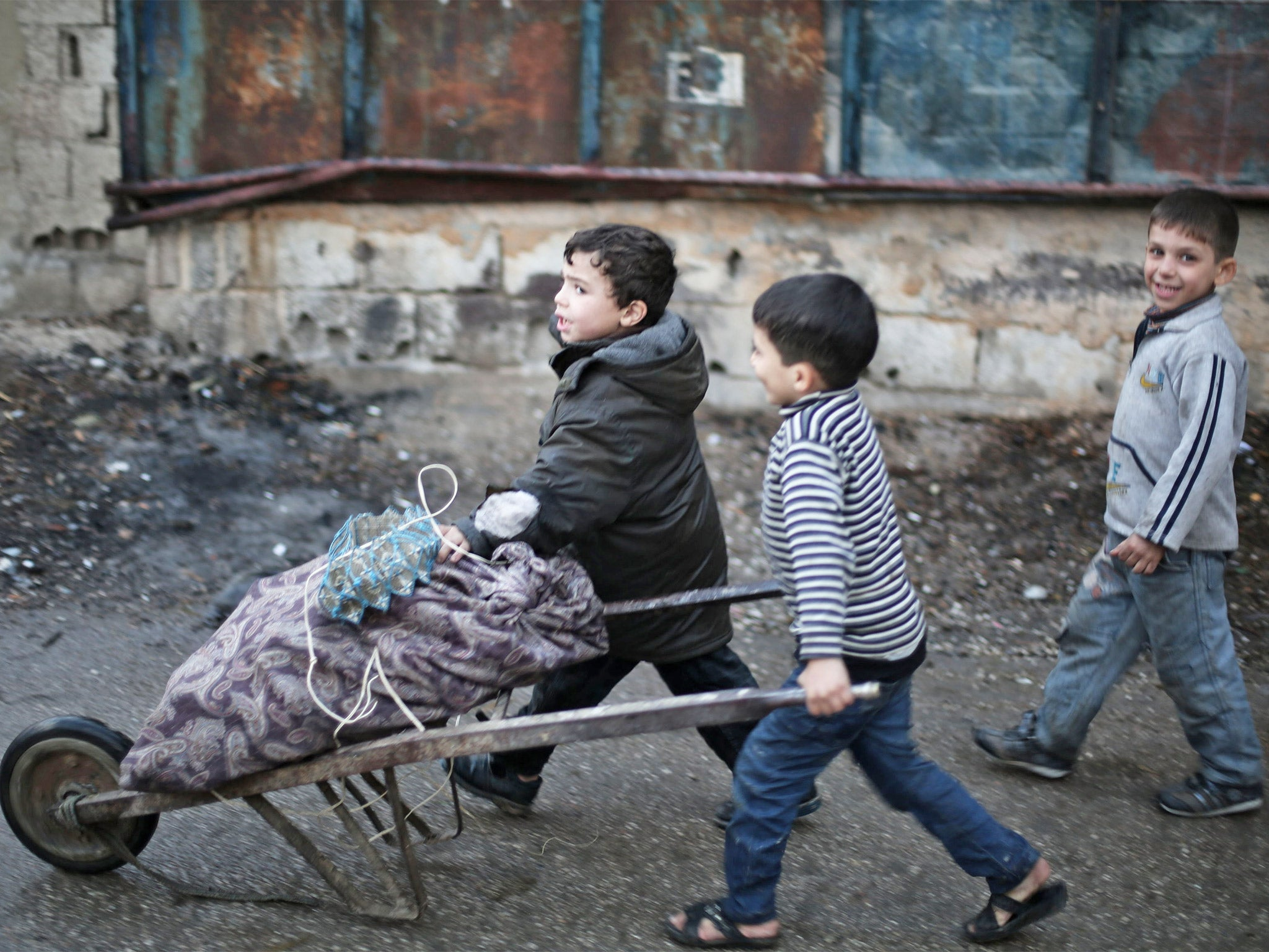 Syria Civil War Dying Children Being Forced To Eat