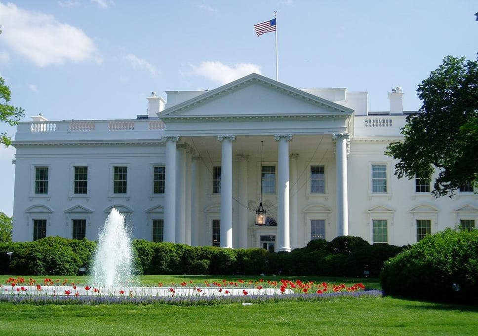 Secret Service Arrested A Man Outside The White House Fence On Tuesday.