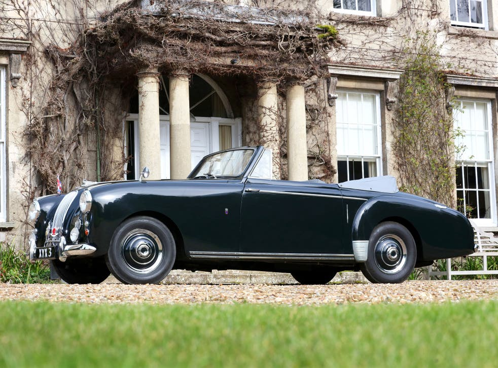 The Aston Martin Lagonda 3 Litre Drophead Coupe, formerly owned by the Duke of Edinburgh, could fetch as much as £450,000