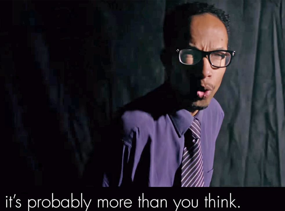 """""""It's probably more than you think"""": a still from the 'Get Into Teaching' advert"""