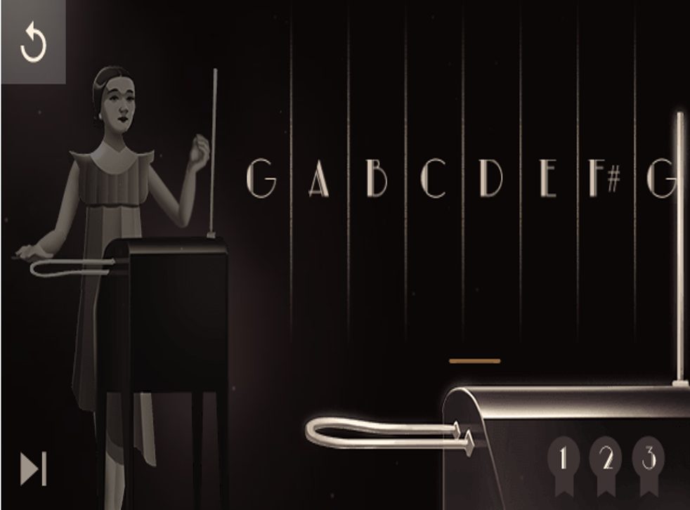 Popular Google Doodle Game Lets Users Play Virtual Theremin The Independent The Independent