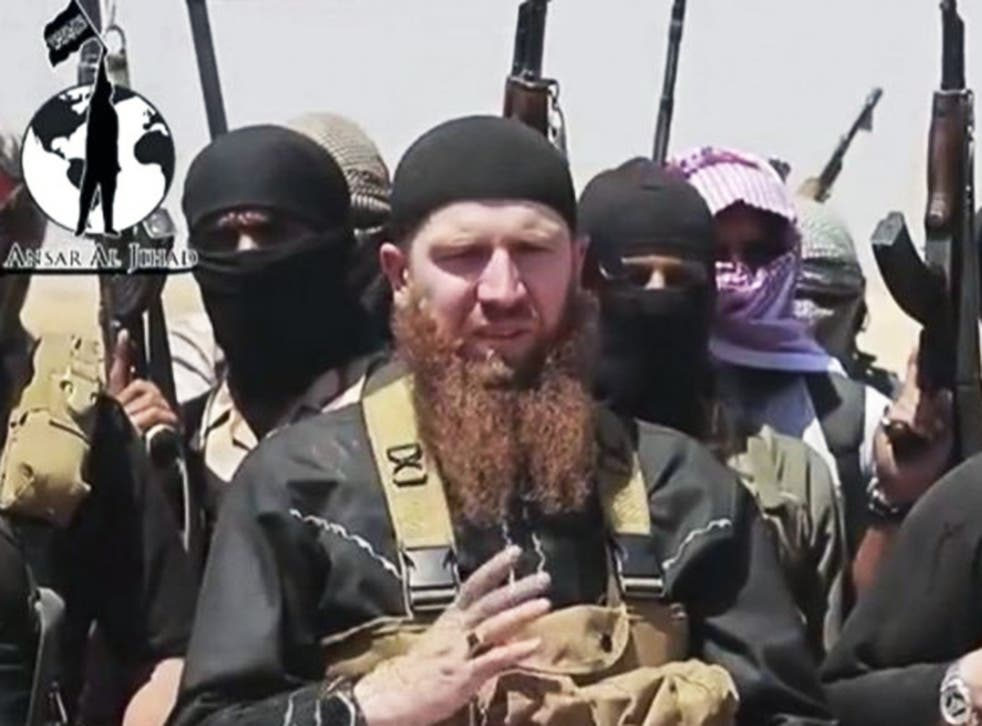 Omar al Shishani a.k.a. 'Omar the Chechen'