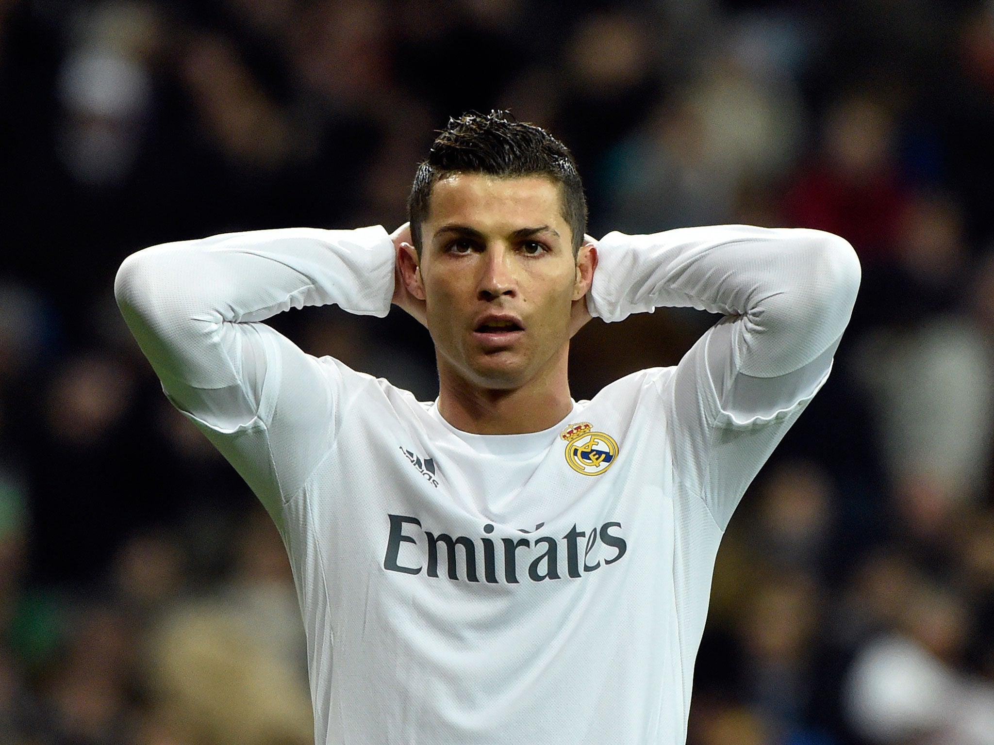 cristiano ronaldo drops huge real madrid exit hint after