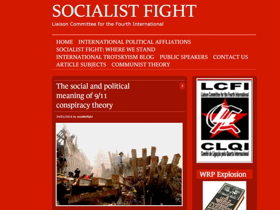 Image result for Socialist Fight Trotskyist images