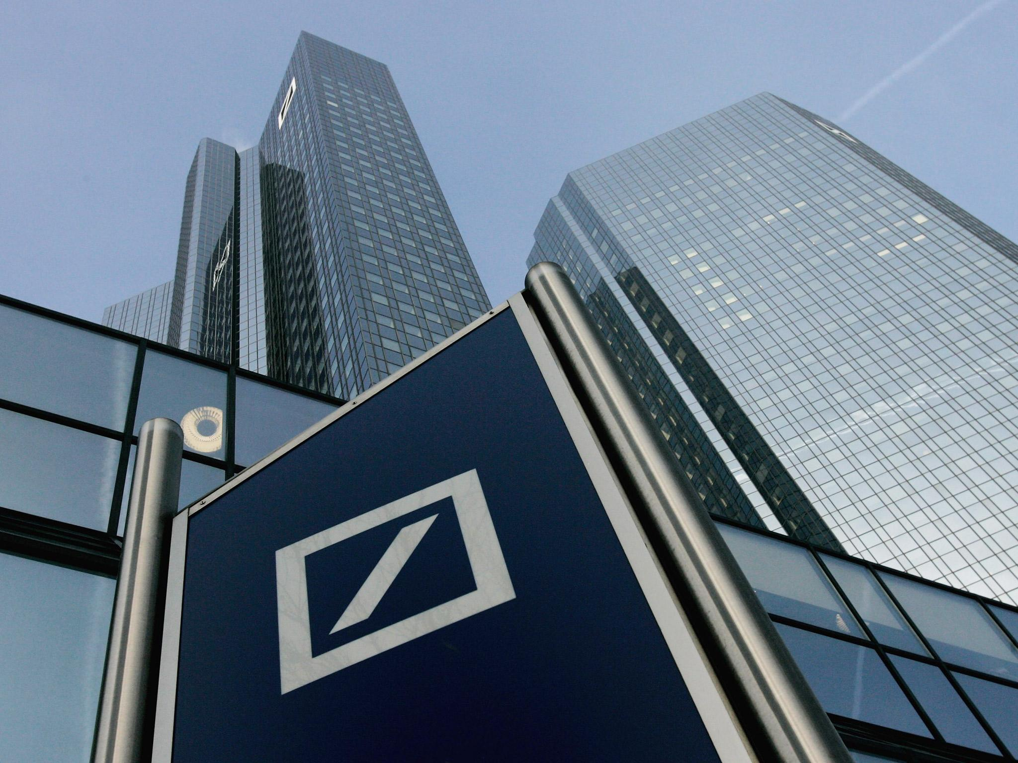 deutsche bank posts surprise profit despite threat of. Black Bedroom Furniture Sets. Home Design Ideas