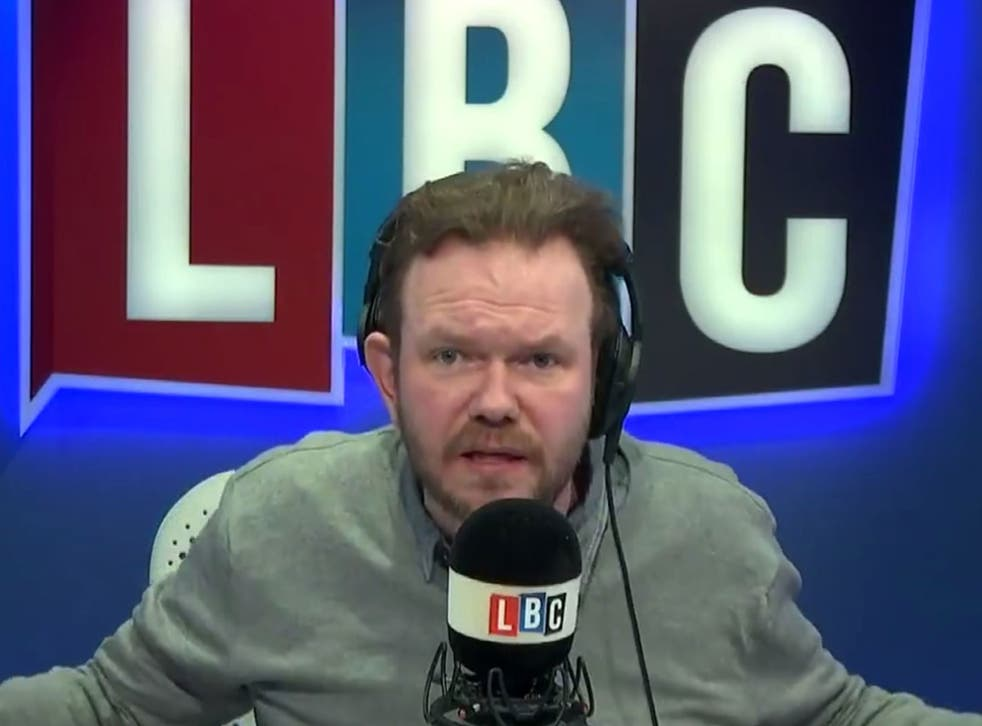 James O'Brien launched a passionate critique of negative media coverage of hospitals which coincided with the ongoing junior doctors strike