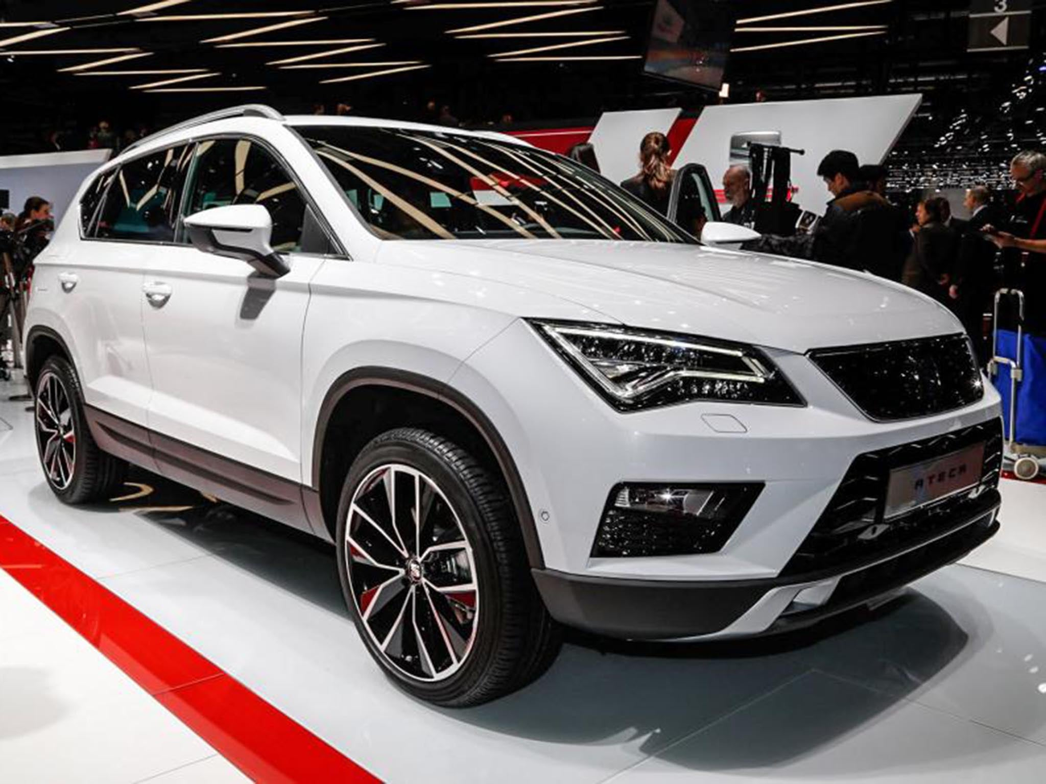 seat unveils ateca suv spain finally joins the 4x4 market. Black Bedroom Furniture Sets. Home Design Ideas