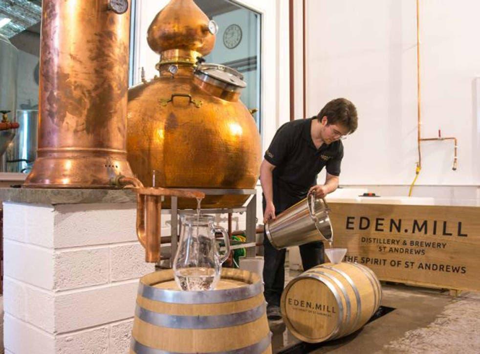 The distillery at Eden Mill