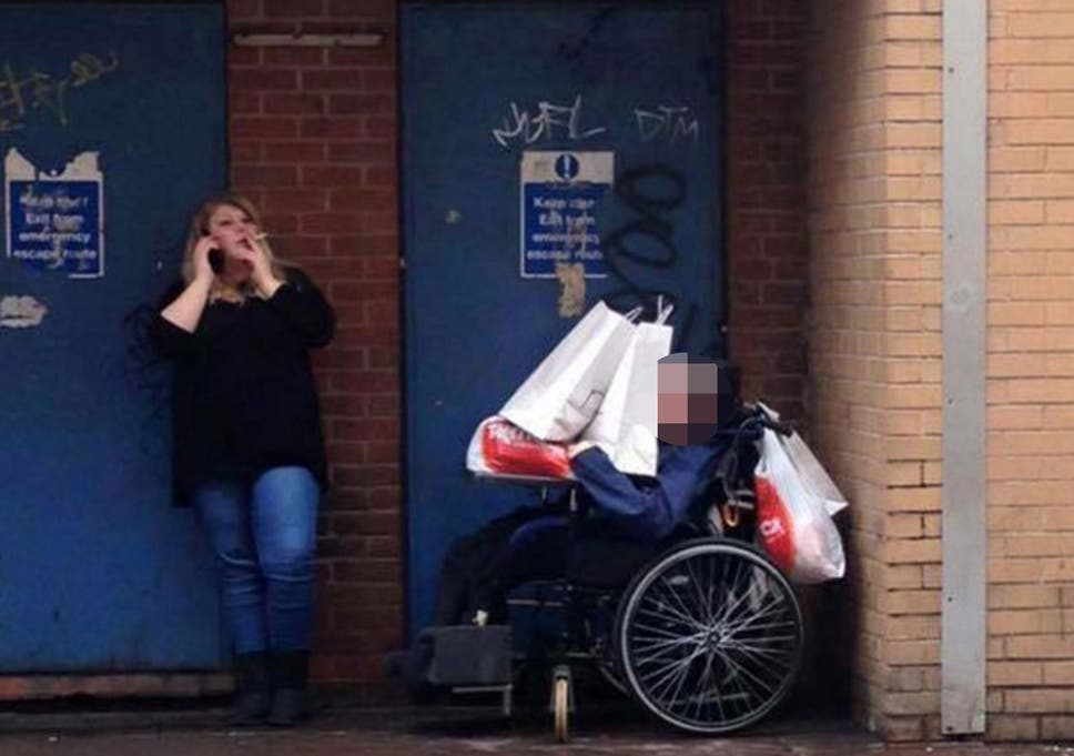 A Shocking Lack Of Support For Early >> Mencap Suspends Support Worker After Shocking Image Shows Her