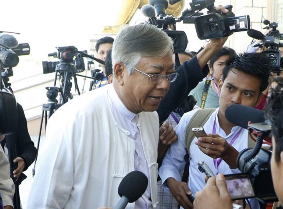 U Htin Kyaw is odds-on to be elected party president