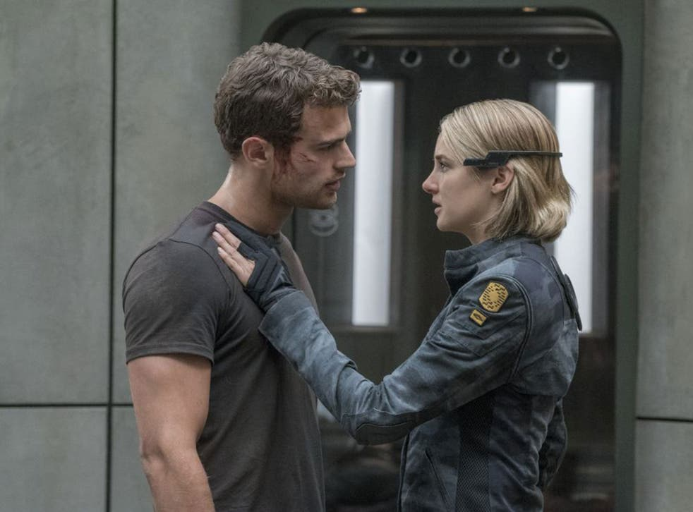 Theo James and Shailene Woodley return in 'The Divergent Series: Allegiant'