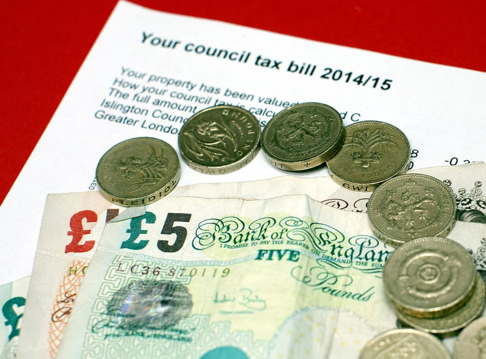 The average rise of council tax in England outside London is expected to be £54