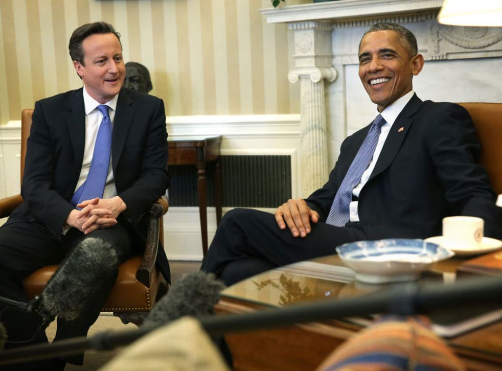 Barack Obama said David Cameron had risked damaging the 'special relationship'