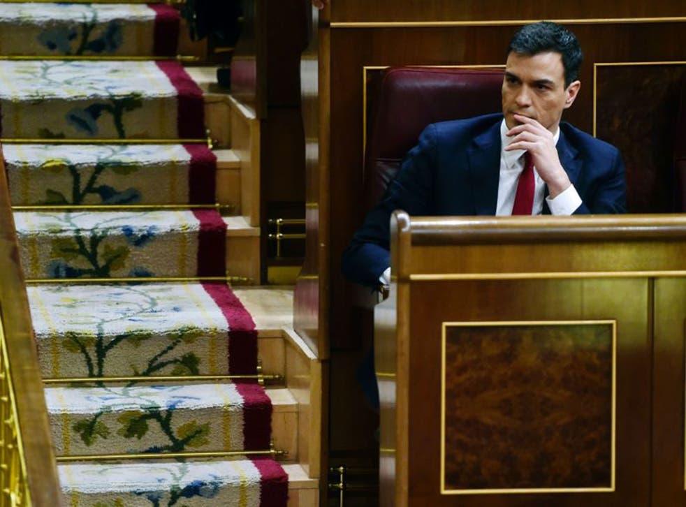Socialist leader Pedro Sanchez failed in a bid to form a government with centre-right Ciudadanos