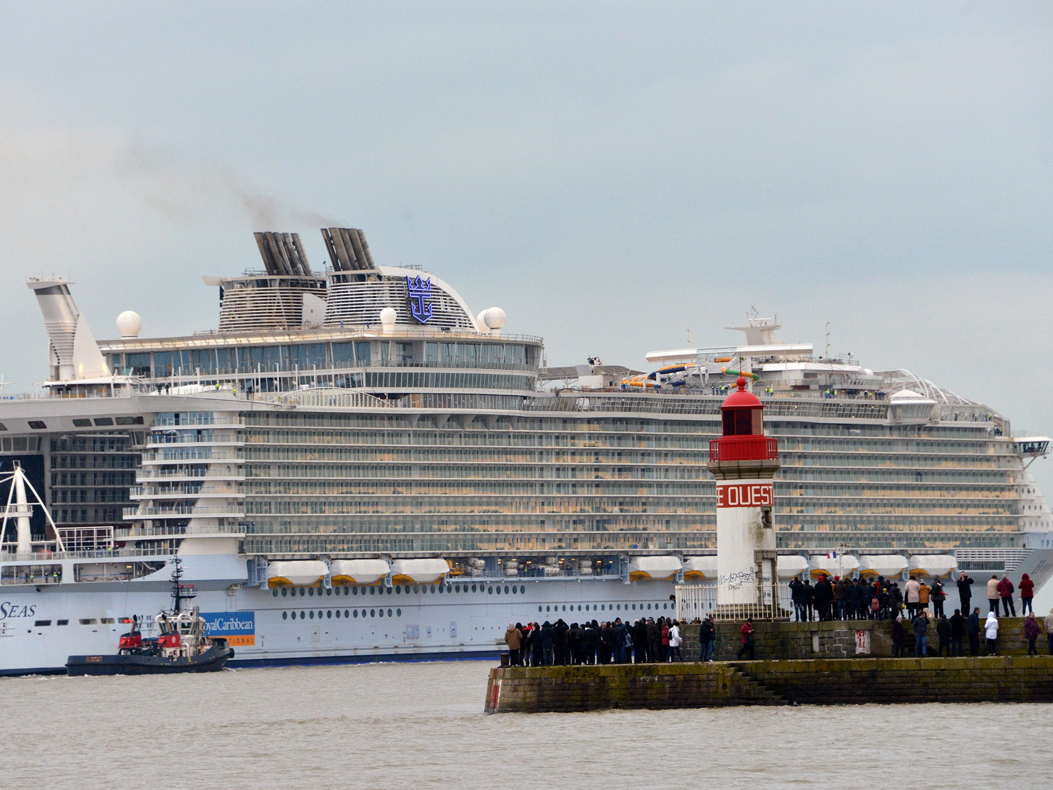 World39s Biggest Cruise Liner Harmony Of The Seas Takes To The Seas For F