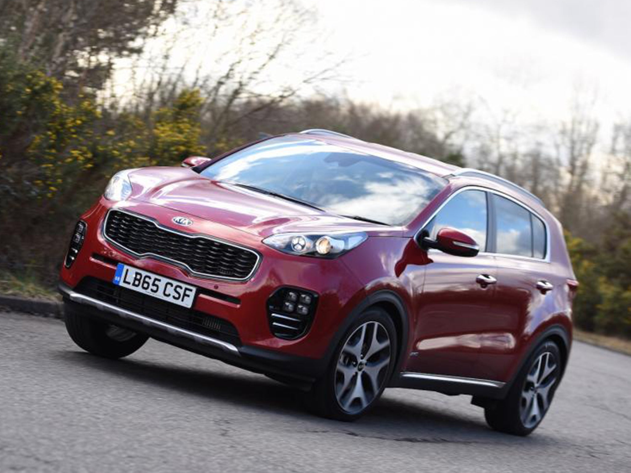 Kia sportage 1 6 t gdi gt line car review suv looks more fun than it is the independent