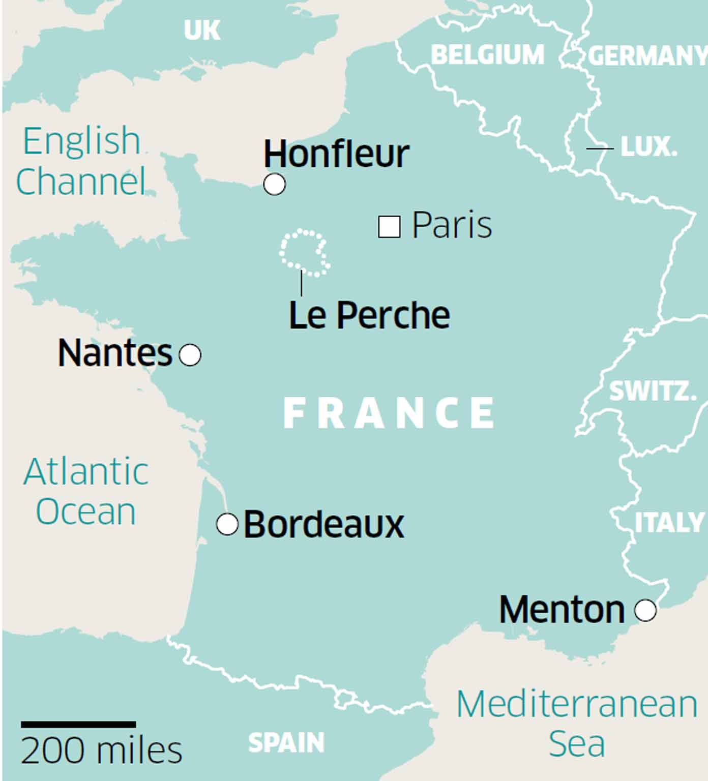 Short Breaks In France From Nantes And Menton To Honfleur Bordeaux