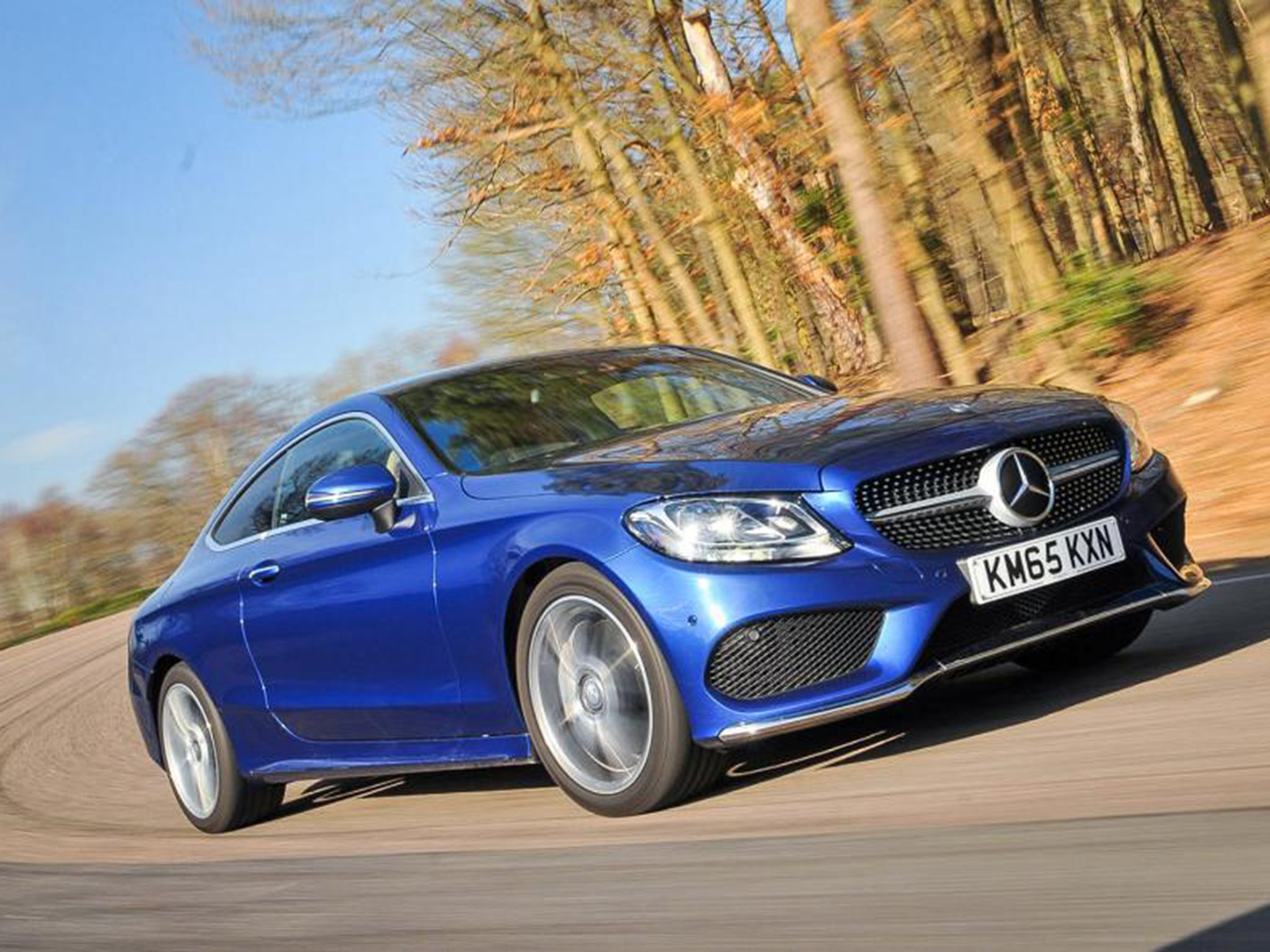 Mercedes benz c250 d amg line coupe car review air for Mercedes benz c250 amg