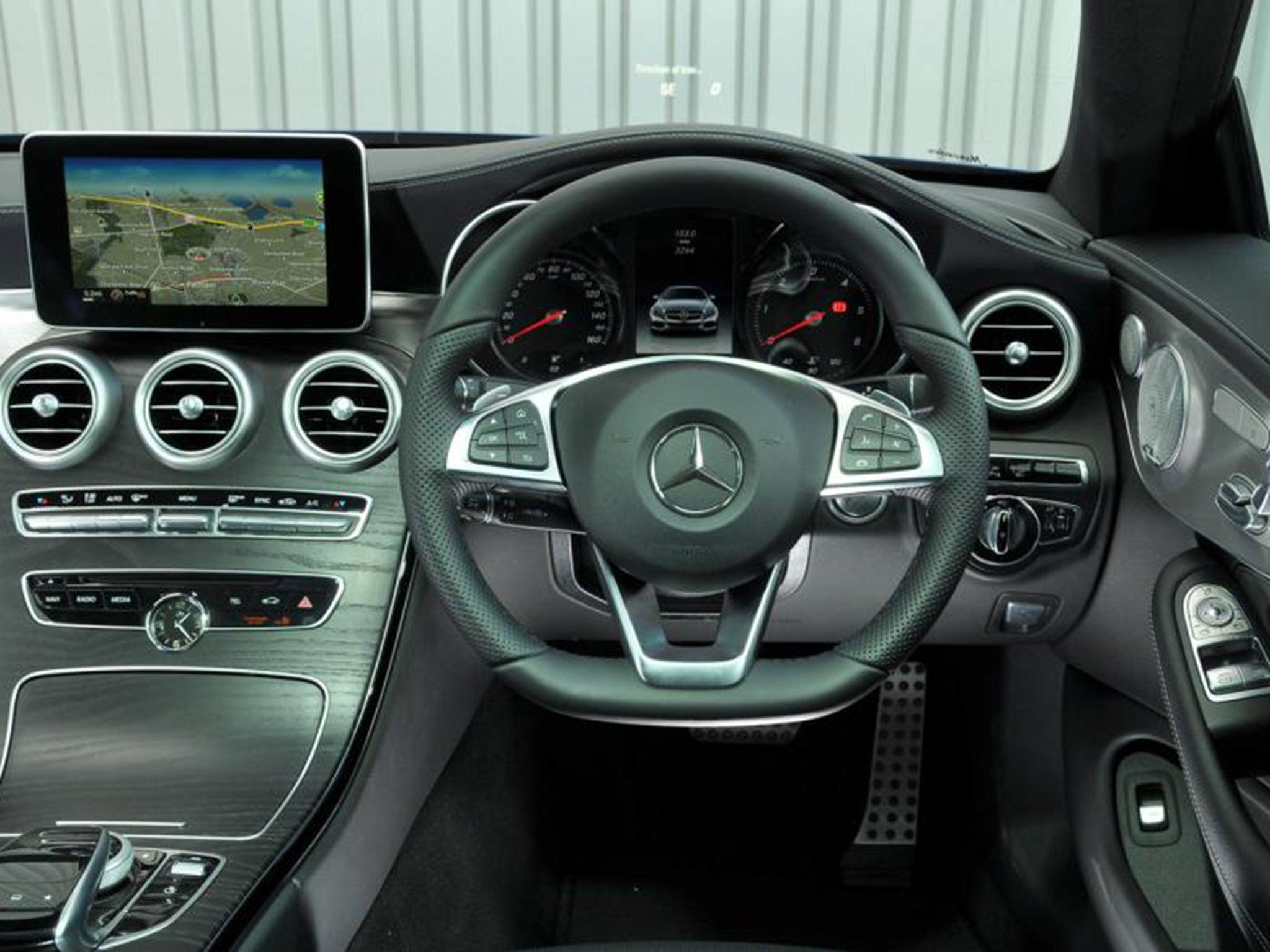 Mercedes-Benz C250 d AMG Line Coupe, car review: Air-suspension