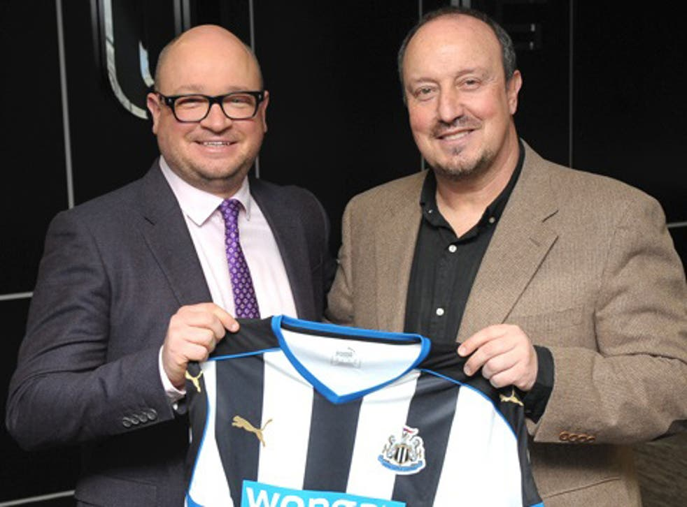 Rafael Benitez is unveiled as the new Newcastle manager after Steve McClaren was sacked