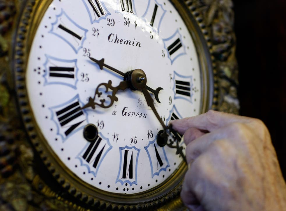 While old clocks will need to be reset by hand, smartphones will update the time themselves