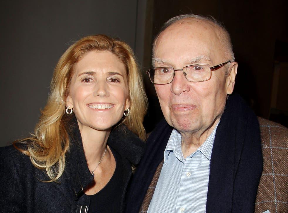 Gutfreund with Susan Benedetto in 2014