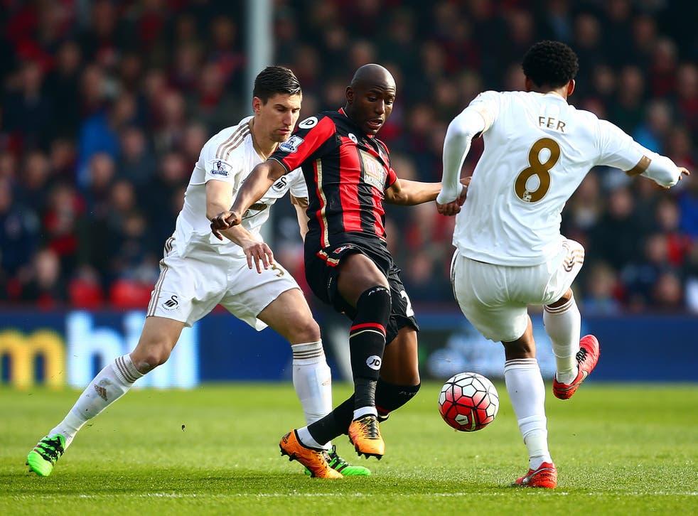 Bournemouth striker Benik Afobe