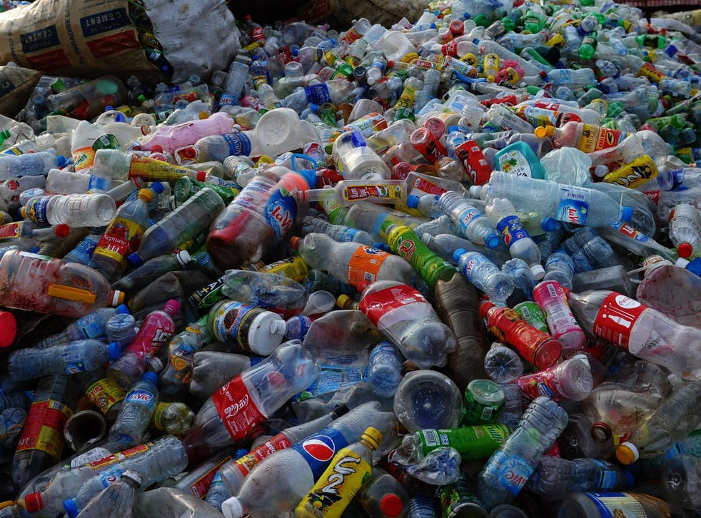 PET makes up nearly one-sixth of the world's annual plastic production