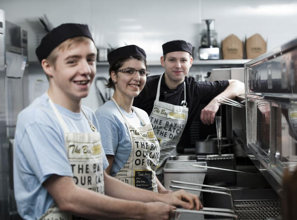 The Bay Fish & Chips in Aberdeenshire is nominated for the Food Made Good Award for Environment