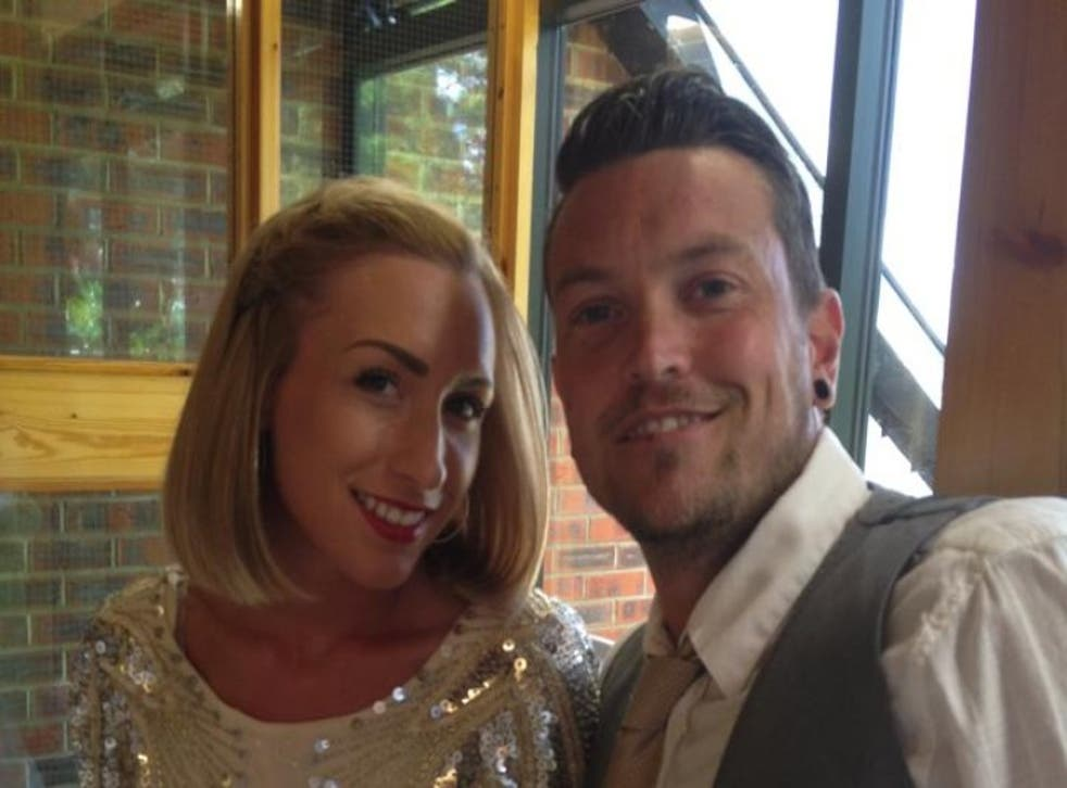 """Jamie Tanner, 36 said he wanted to marry """"the love of his life"""" Emma Haggan, 30, before he dies."""