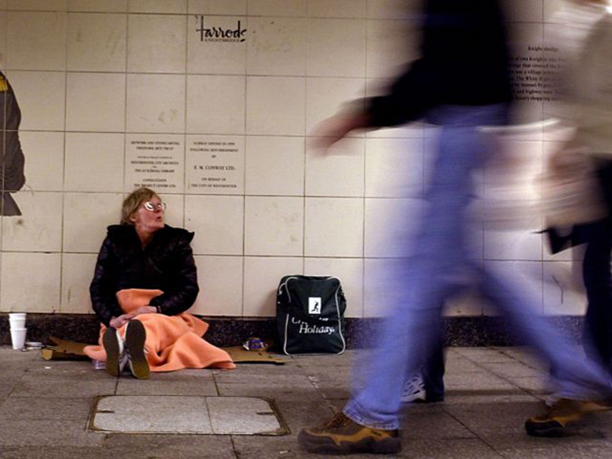 Homeless crisis in UK is 'a test of our basic humanity ...