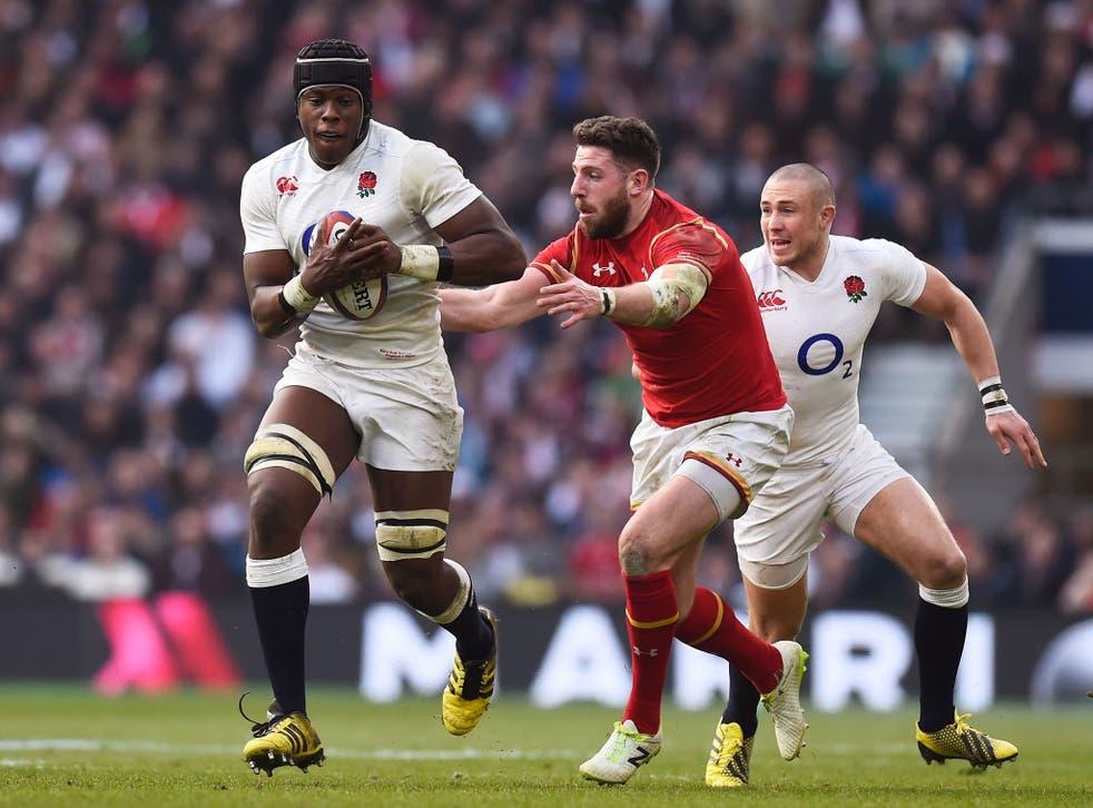 Maro Itoje dominated proceedings at Twickenham