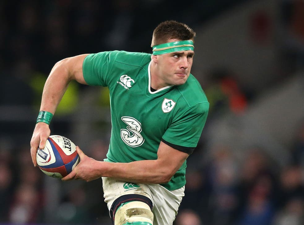CJ Stander is fast becoming a key part of this Ireland side