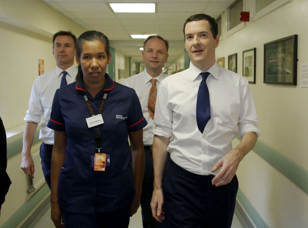 George Osborne and Jeremy Hunt are accused of creating a spending crisis