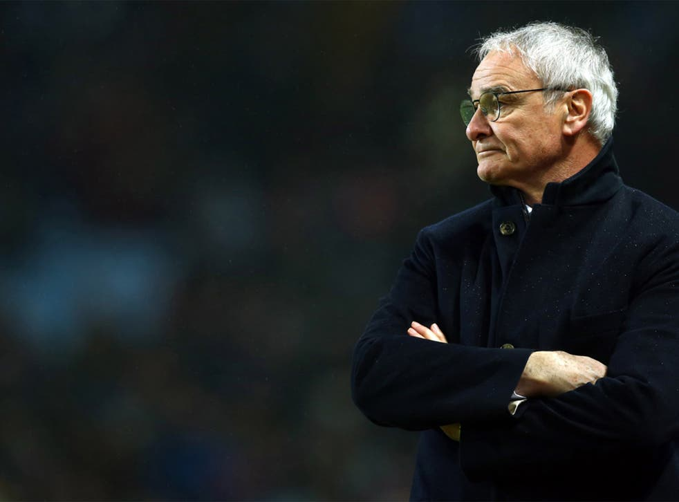 Claudio Ranieri has lead Leicester to the top of the Premier League
