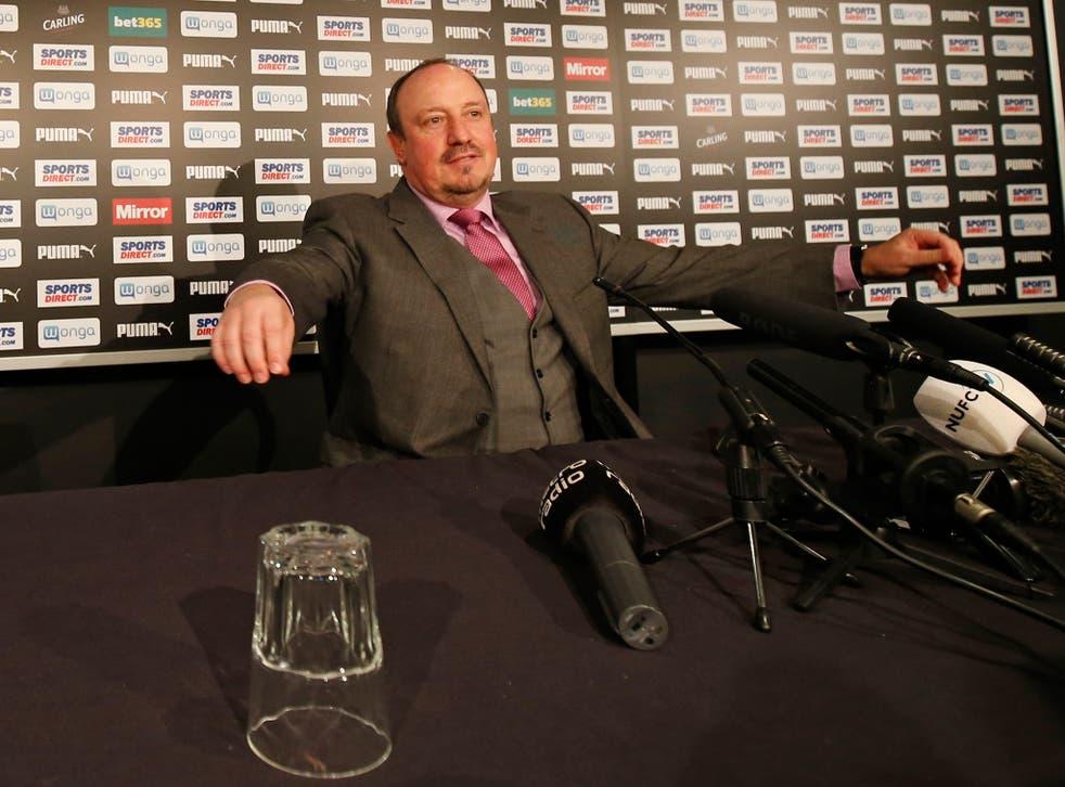 Rafael Benitez says: 'I feel the potential of the club is so massive'