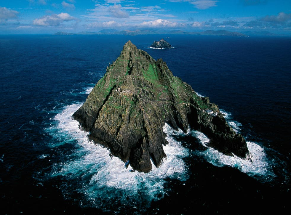 The remote island of Skellig Michael in County Kerry