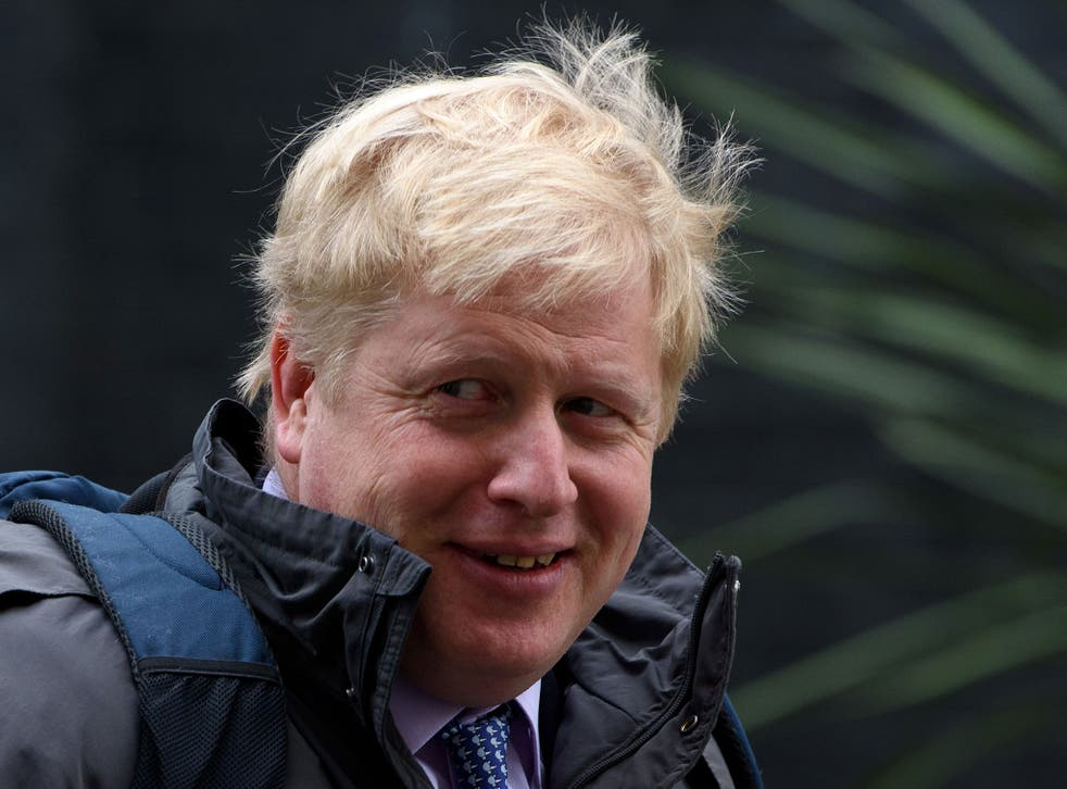 Boris Johnson said that Barack Obama's intervention in the EU referendum debate is a 'piece of outrageous and exorbitant hypocrisy'