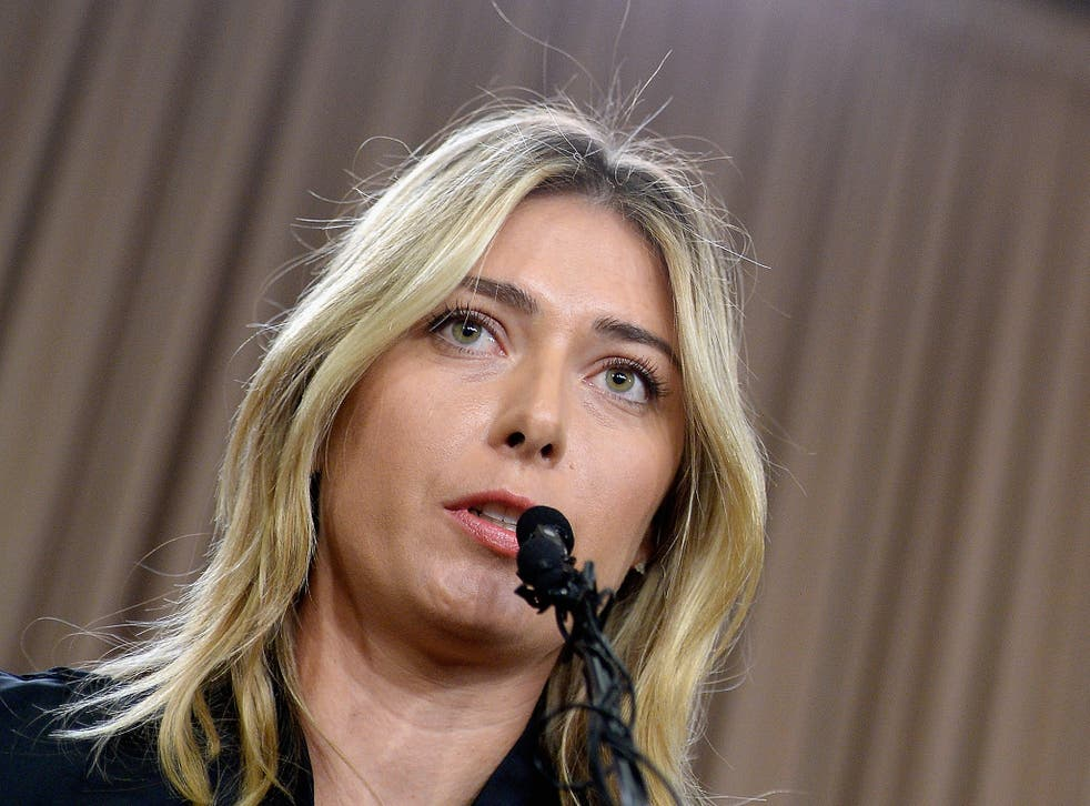 Sharapova announced on March 7 that she had tested positive for taking the drug